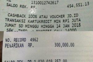 Kisah pengusaha pamer struk ATM Rp 1 miliar ini endingnya ngeselin