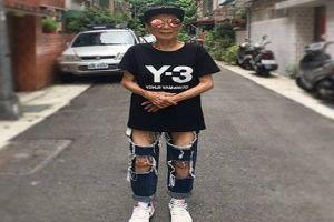 5 Gaya kece Moon Lin, nenek zaman now yang stylish abis