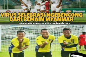 10 Selebrasi kocak dan unik para pemain bola Indonesia, kreatif abis