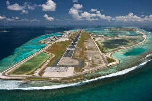 4 Bandara berbentuk pulau terunik di dunia, bikin takjub