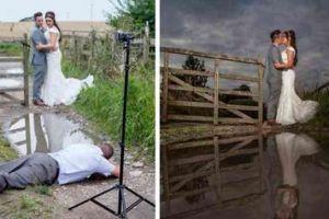 Begini pengorbanan 10 fotografer demi foto prewedding yang sempurna