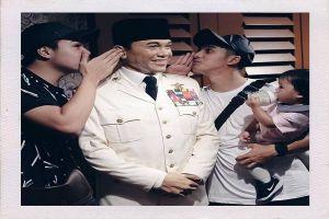 Pesona cicit Presiden Soekarno yang stylist ini bikin meleleh