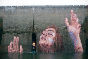 7 Mural di alam ini tampak hidup, senimannya menakjubkan