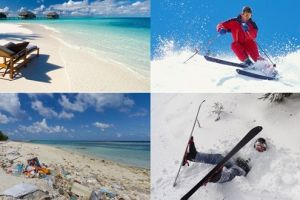 10 Ekspektasi vs realita liburan ke tempat top dunia, ketipu ya?