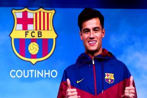 Transfer coutinho ke Barcelona bisa bayar utang klub Brasil ini