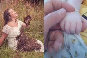 Ingat wanita hamil foto dengan ribuan lebah? Begini kabar kelahirannya