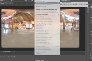Ini cara edit hasil foto 360 di Photoshop, biar makin Instagramable