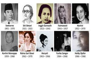 Ini istri-istri Presiden Soekarno yang harus kamu tahu