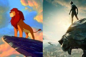 Ini 4 kemiripan adegan film Black Panther vs animasi The Lion King