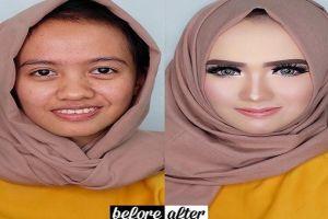 6 Potret sebelum dan sesudah ini buktikan adanya 'the power of makeup'