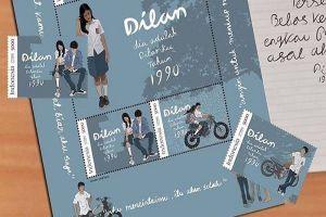 Filmnya laris manis, Pos Indonesia bikin perangko edisi Dilan 1990