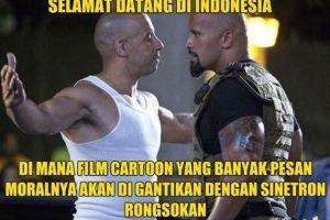 Meme kocak sindir sinetron Indonesia yang bikin ngilu