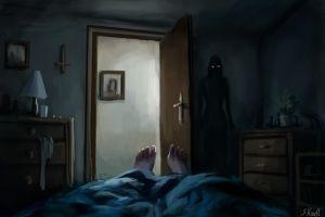 11 Ilustrasi gambar horor yang bikin merinding seketika