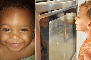 Ditinggal ibu keluar, bayi ini tewas dimasukkan kakaknya di dalam oven