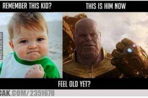 5 Meme Infinity Stone Thanos di Avengers Infinity War, bikin ngakak