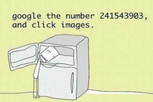 Angka ini tampilkan foto memasukkan kepala ke dalam kulkas, kok bisa?
