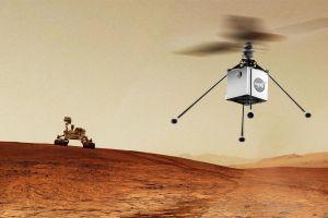 Terobosan baru, NASA bakal boyong helikopter ke planet Mars