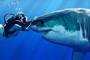 5 Ikan hiu terbesar yang hidup di bumi, ada yang sebesar bis