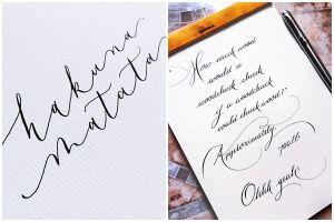 10 Tulisan tangan ini mirip hasil komputer saking indahnya, epic abis