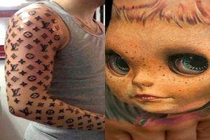 10 Hasil tato ini terlalu kreatif, malah sukses ngocok perut