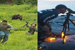 Tak takut mati, 10 fotografer ini berani menantang maut