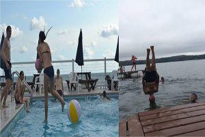 5 Foto 'perfect time' di atas air ini buat kamu takjub