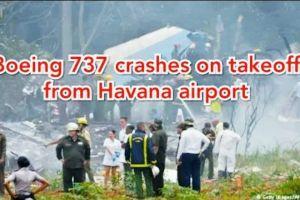Pesawat Cubana de Aviacion Boeing 737 jatuh di Kuba Jumat lalu