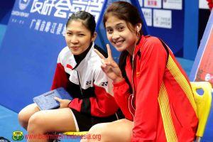 11 Pesona Rizky Amelia yang sukses curi perhatian pecinta badminton RI