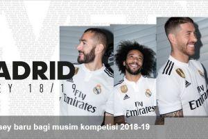 15 Potret jersey baru Real Madrid musim depan, tapi kok nggak ada CR7?