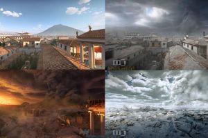 Gambaran 48 jam terakhir di Kota Pompeii, sebelum dan sesudah terkubur