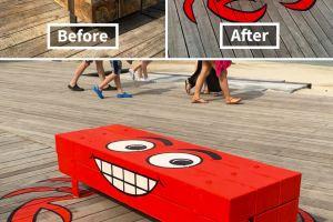 9 Hasil seni jalanan kreatif yang bikin jalan jadi nggak membosankan
