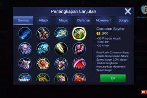 Mengenal 3 item absorb Mobile Legends, wajib tahu nih