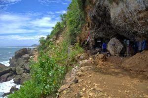 Eksotisme goa langse di sudut tersembunyi Gunungkidul Yogyakarta