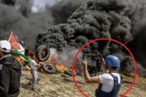 10 Potret kehidupan reporter perang yang berbahaya, nyawa taruhannya