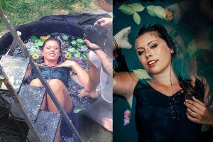 Fotografer ini buat studio DIY dari kolam anak-anak, bikin kagum