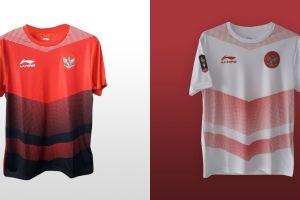 Ini penampakan jersey home dan away timnas Indonesia di Asian Games