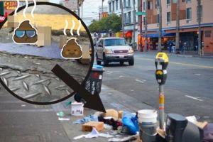 Duh, jalanan di kota San Fransisco dipenuhi kotoran manusia!
