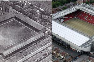 Inilah 12 foto stadion sepak bola terkenal dunia, dulu dan sekarang