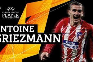 Antoine Griezmann dianugerahi gelar pemain terbaik Liga Europa