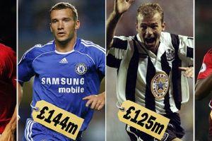 Lewat hitungan inflasi, ini 10 pemain termahal English Premier League