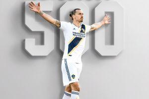Cetak gol karir ke 500, Zlatan Ibrahimovic bikin gol keren ini