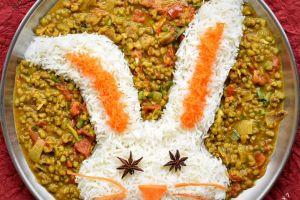 7 Bentuk nasi ini lucu banget, bikin acara makan makin semangat