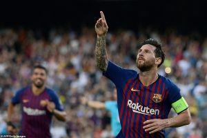 Lakukan hattrick, Lionel Messi pecahkan 3 rekor di Champions League
