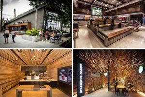 11 Desain kedai Starbucks ini bikin betah nongkrong seharian