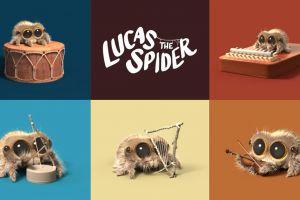 Lucas, laba-laba kecil yang kembali dengan pertunjukan menggemaskan