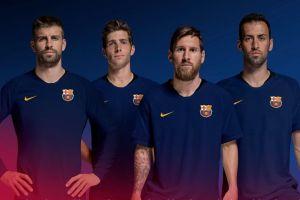 Logo Barcelona diperbarui dan dibuat lebih kekinian & modern