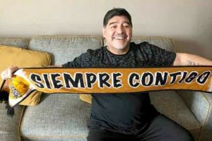 Diego Maradona disambut sebagai manajer baru klub Dorados of Sinaloa