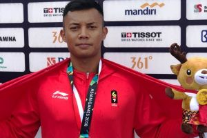 Serda Andri, salah satu prajurit yang telah perkuat Tim Kano Indonesia