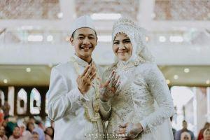 Resmi menikah, ini 15 potret pernikahan pesilat Hanifan & Pipiet