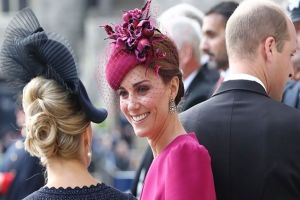 Gaya Kate Middleton & Meghan Markle di acara pernikahan Putri Eugenie